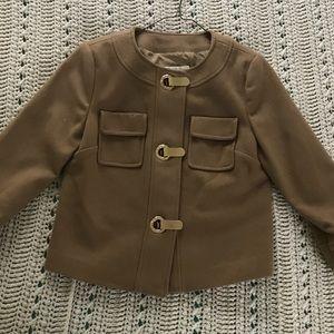 Michael Kors brown suede jacket